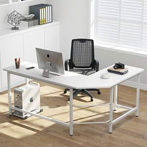 Best L Shaped Corner Desk for Dual Monitors