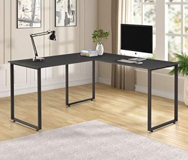Merax L-Shaped Office Desk