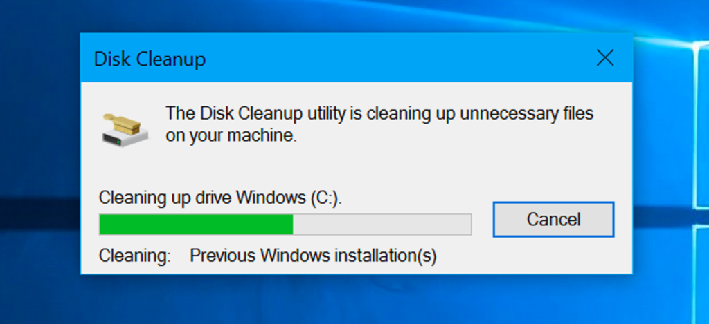 Use Disk Cleanup